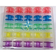 Контейнер с разноцветными шпулями 200-277-062 Janome